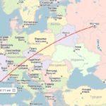 Перелет Барселона - Москва