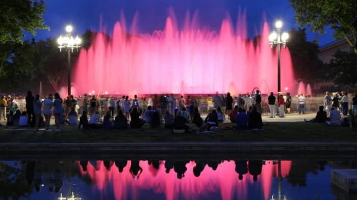 Магический фонтан