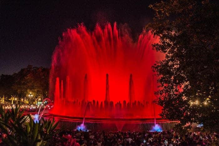 Смотровые площадки около фонтана