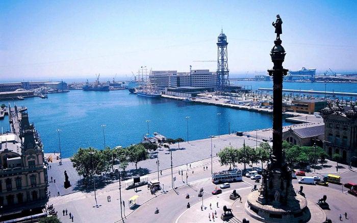 Площадь Христофора Колумба - Как добраться до круизного порта Барселоны