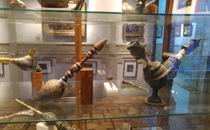 В музее конопли