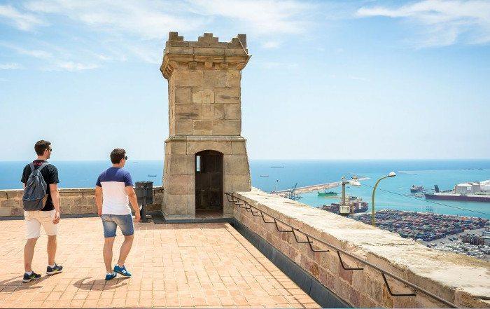 Обзорные площадки Барселоны: Крепость Монжуик