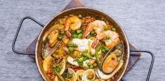 Паэлья: традиционное испанское блюдо