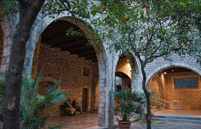 Римские стены Барселоны: Pati Llimona