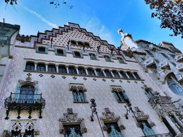 Здания Барселоны в стиле модерн: Дом Амалье
