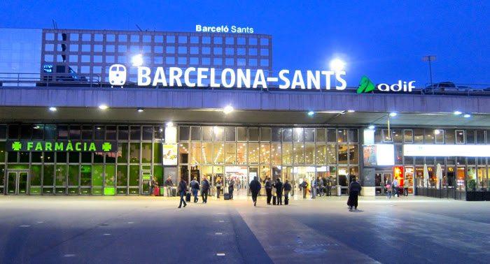 Железнодорожный вокзал «Sants»