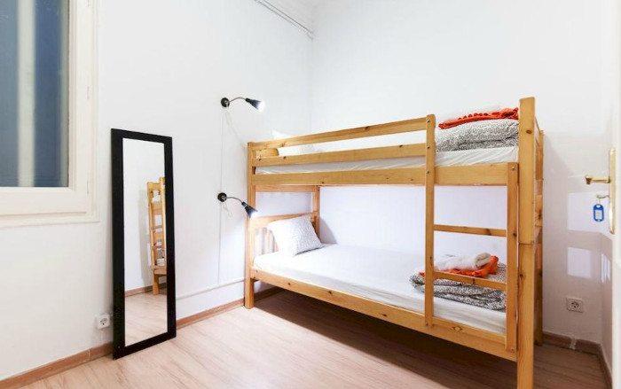 WOW хостел в Барселоне: Номера хостела