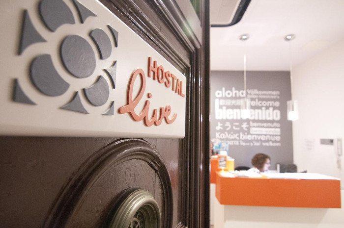 Хостел Live Barcelona
