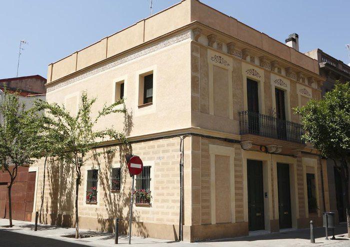 Месторасположение хостела в Барселоне