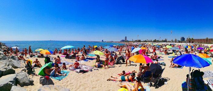 Лучший сезон в Барселоне для пляжного отдыха