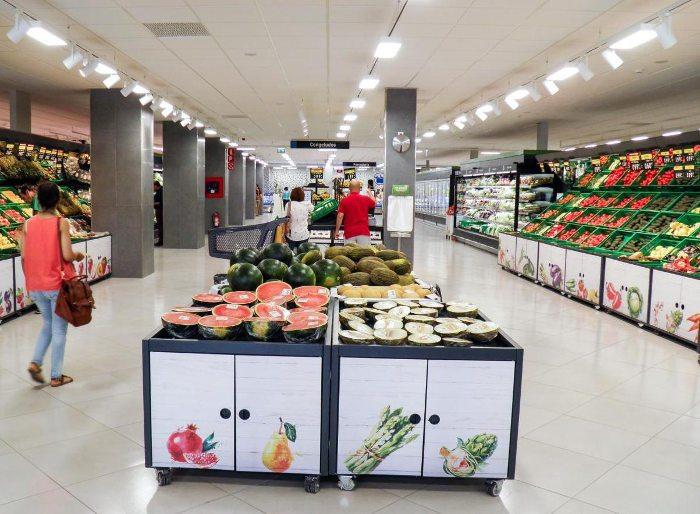 Супермаркеты в центре Барселоны: Mercadona