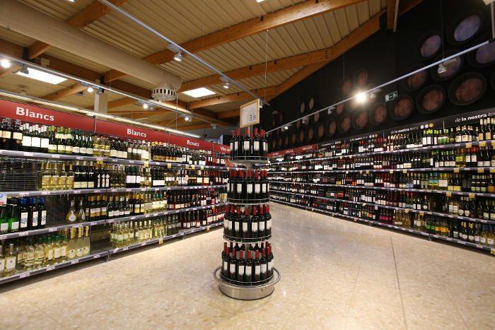 Супермаркеты в центре Барселоны: Caprabo