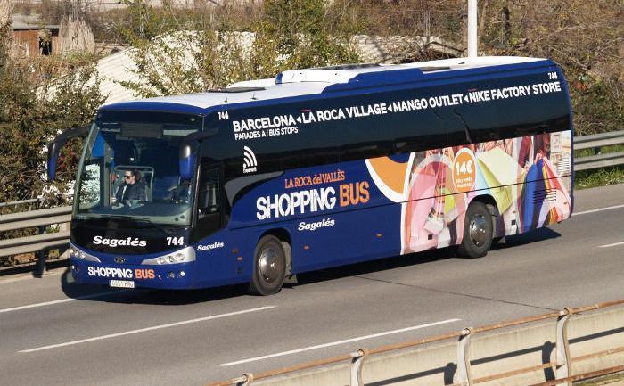 Автобус в Ла Рока Вилладж
