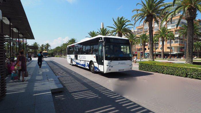 Автобус Барселона - Салоу