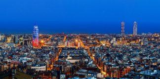 Фото Барселоны с высоты