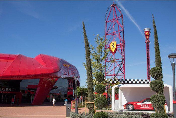 Ferrari Land в Порт Авентура