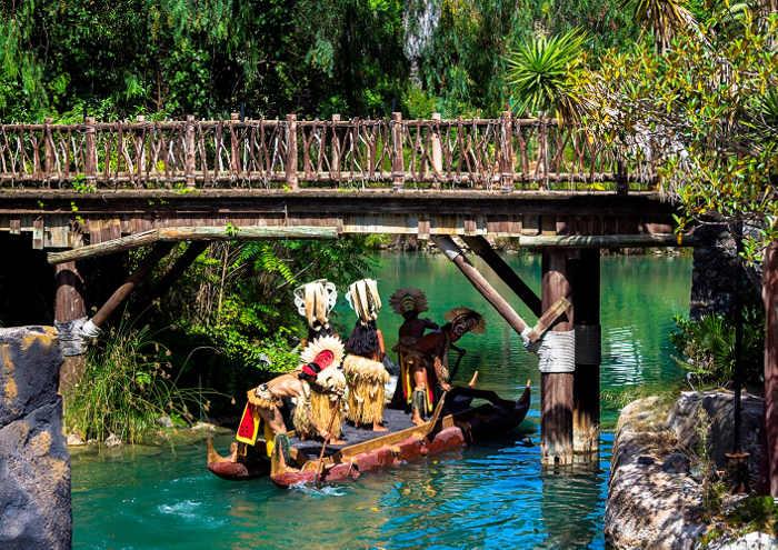 Парк развлечений Порт Авентура: Полинезия