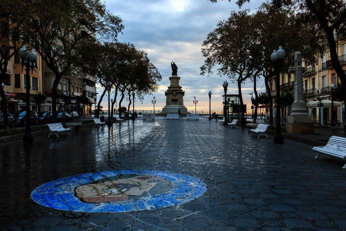 Таррагона: Новая Рамбла