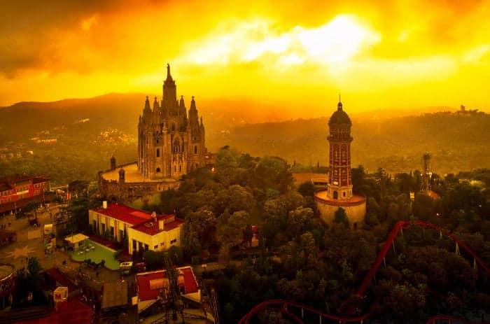 Тибидабо в Барселоне: удивительное место