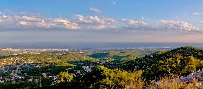Рядом с Барселоной: Гора Пуйч-де-л'Алига