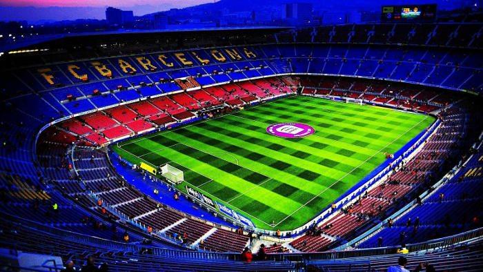 Трибуны домашнего стадиона Барселоны