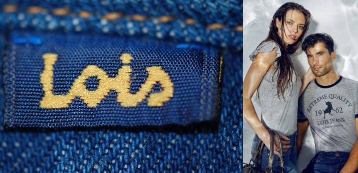 Испанские бренды одежды: Lois