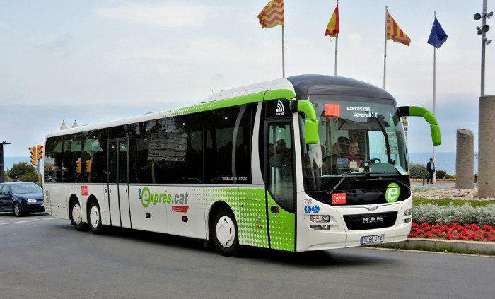 Автобус до города Эль Вендрель