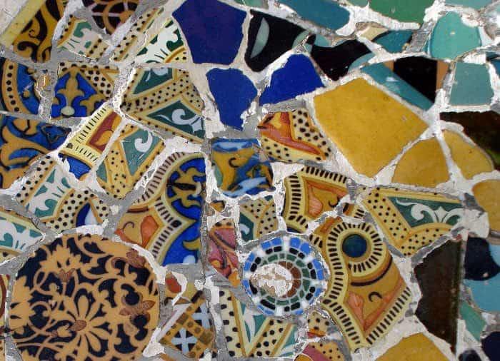 Мозаика Антонио Гауди