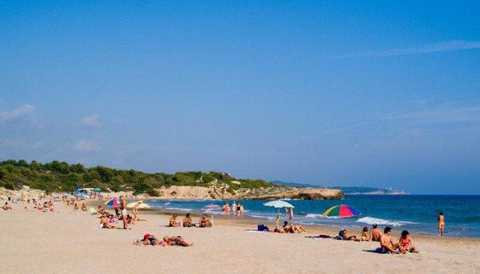 Пляжи Таррагоны: Ла-Савиноса