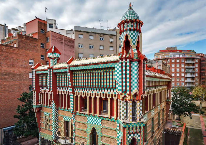 Творчество Антонио Гауди: Дом Висенс