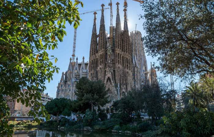 Волшебные места Барселоны: Саграда Фамилия