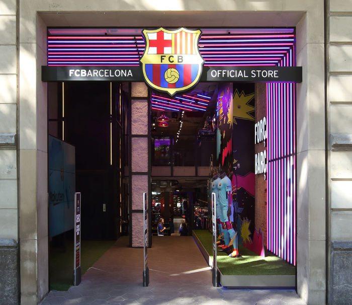 Почтовый адрес клуба барселона