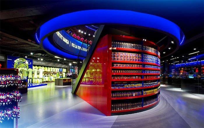 Официальный магазин клуба барселона в барселоне