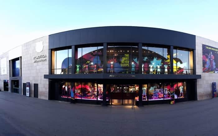 Адрес магазина ФК «Барселона» на стадионе Камп Ноу