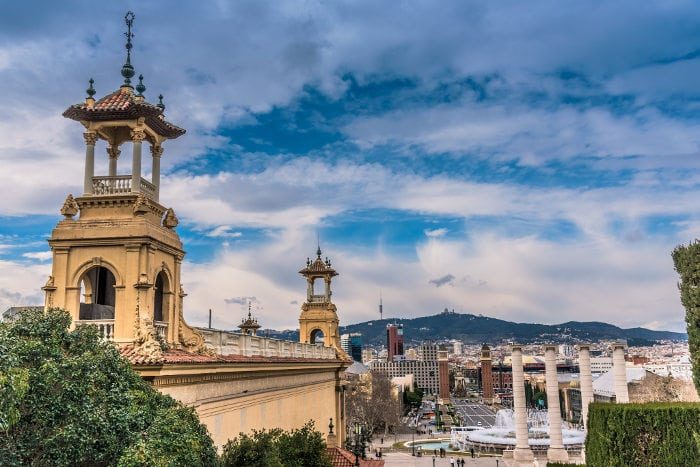 Барселона: что посмотреть самостоятельно. Гора Монтжуик и Площадь Испании