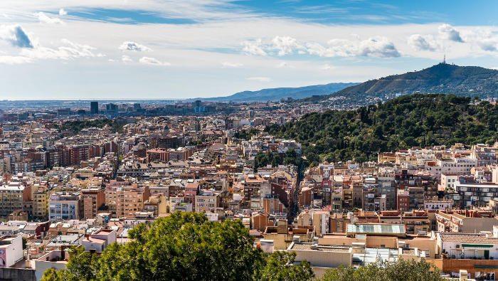 Барселона с высоты: лучшие фото с описанием