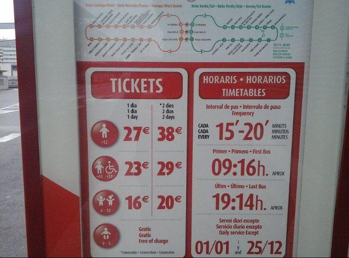 Билеты на Барселона Сити Тур