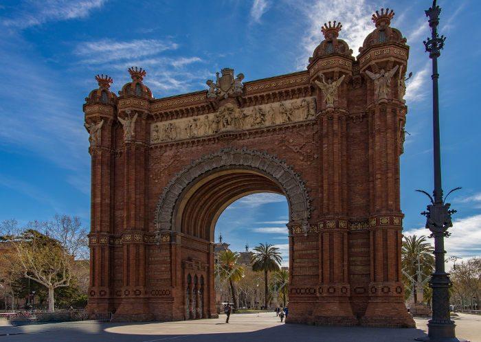 В Барселоне мягкий и приятный климат