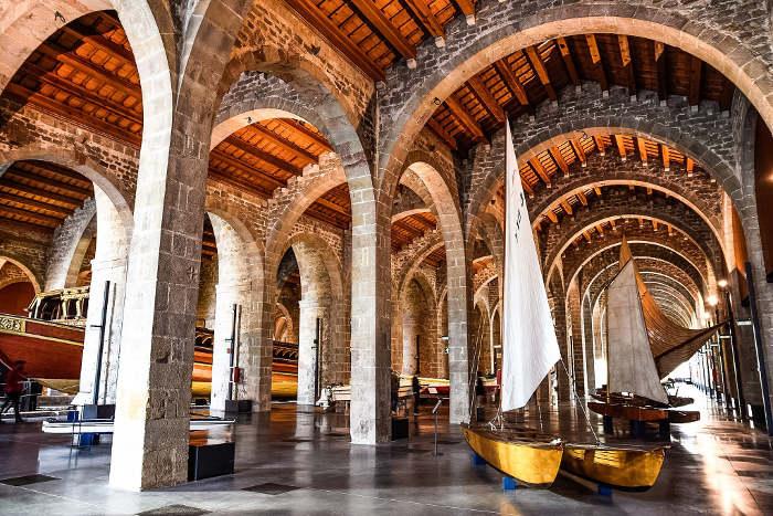 Ехать ли в Барселону: Морской музей