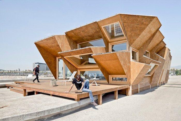 Экспериментальный павильон Барселоны Endesa Pavilion