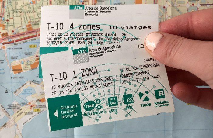Билет Т10 на 10 поездок