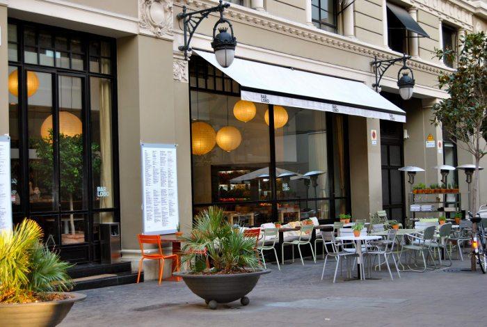 Веранда ресторана