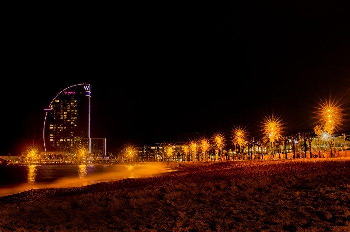 Пляжный отдых в Барселоне