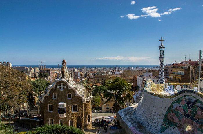 Park Guell - зеленая зона Барселоны