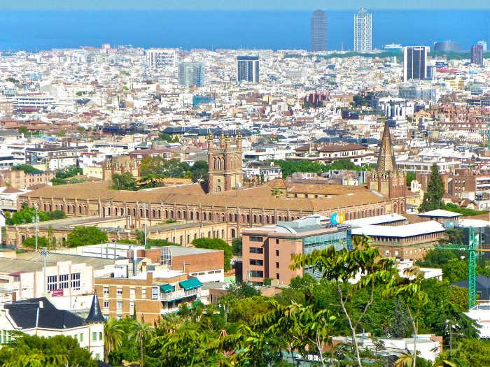 Район Саррия - самый богатый в Барселоне