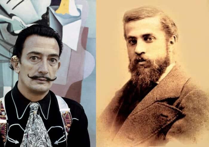 Сальвадор Дали и Антонио Гауди