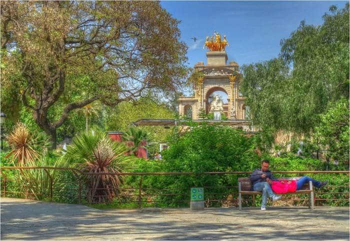 Самые романтичные места Барселоны: Parc de la Ciutadella