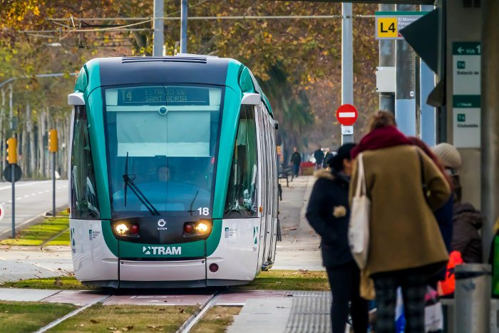 Билеты на трамваи в Барселоне