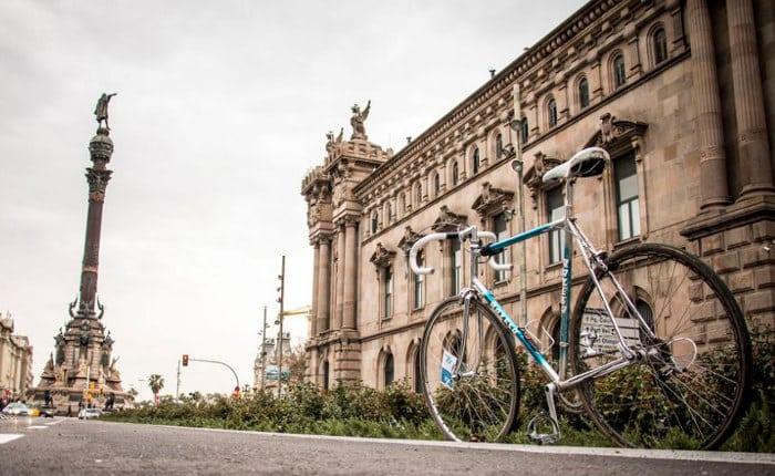 Велосипедные маршруты Барселоны: монумент Христофора Колумба