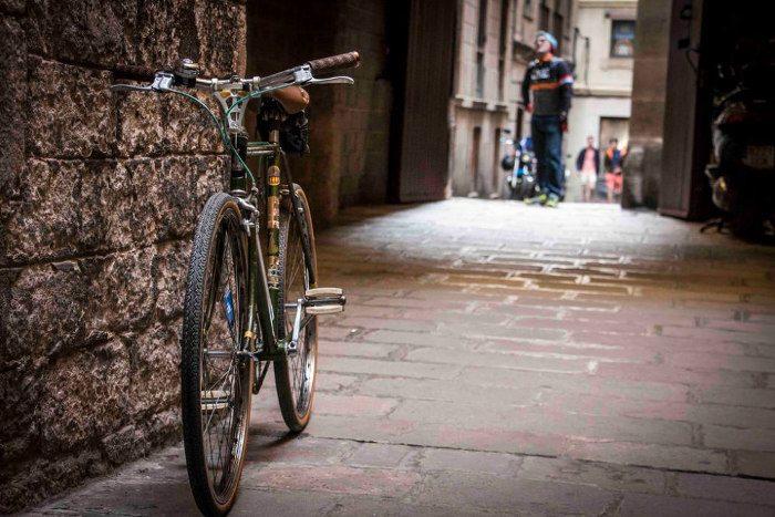 Детали маршрутов Барселоны для велосипедистов